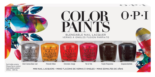 Set miniesmaltes OPI Color Paints