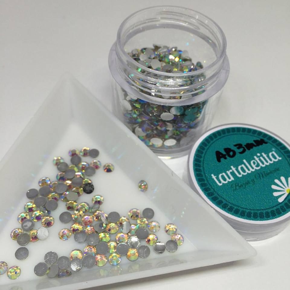 Cristales de resina AB 3 mm