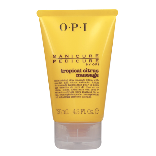 Loción OPI Manicure Pedicure Tropical Citrus Massage 125 ml