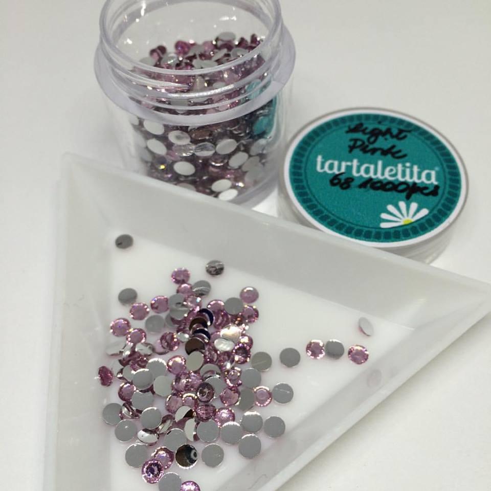Cristales de resina 3 mm, varios tonos