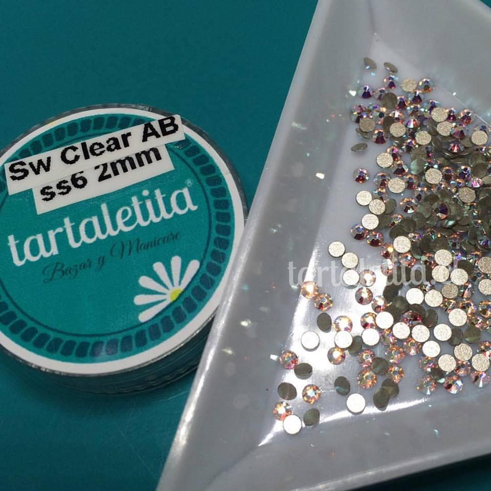 Cristales Swarovski SS6 Clear AB