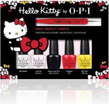 Set Miniesmaltes OPI Hello Kitty