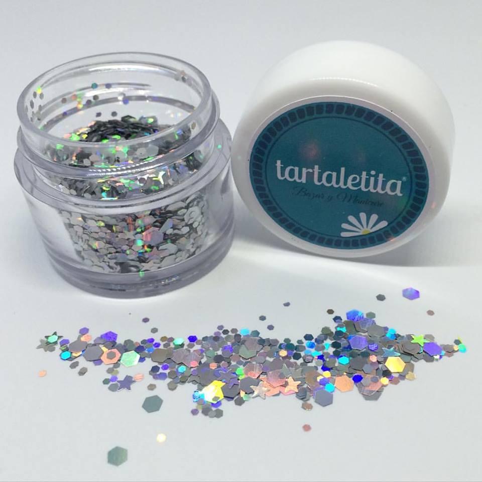 Glitter Silver Star