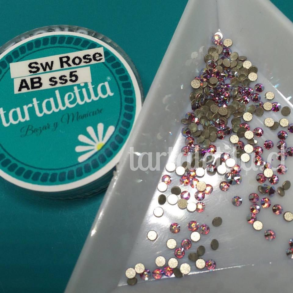 Cristales Swarovski SS5 Rose AB