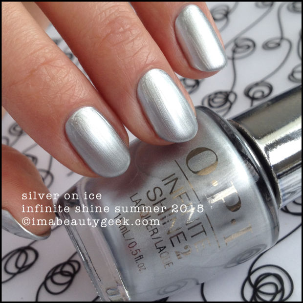 Esmalte OPI Infinite Shine - Silver on Ice