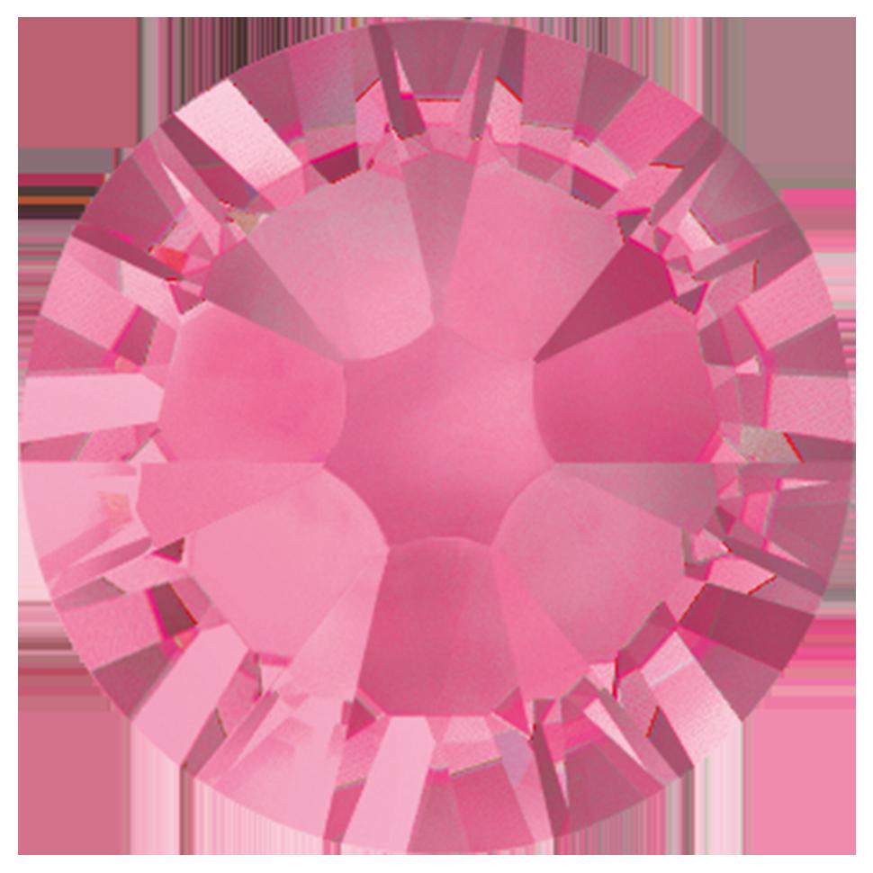Cristales Swarovski SS7 Rose