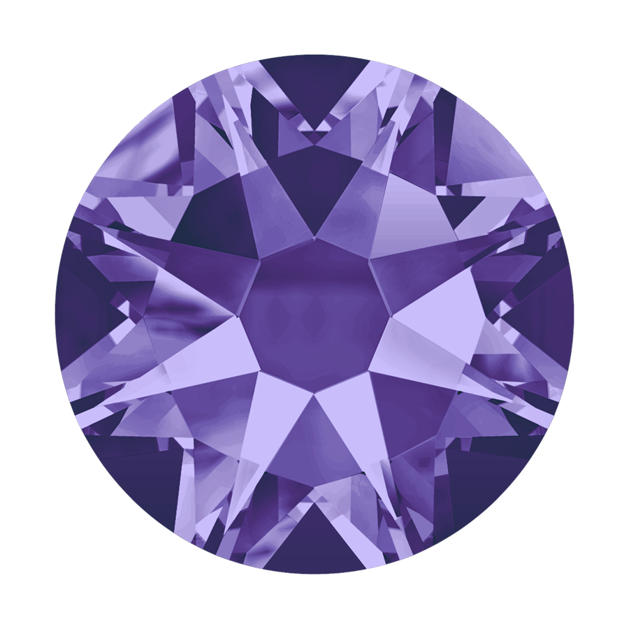 Cristales Swarovski SS10 Tanzanite *Hotfix*