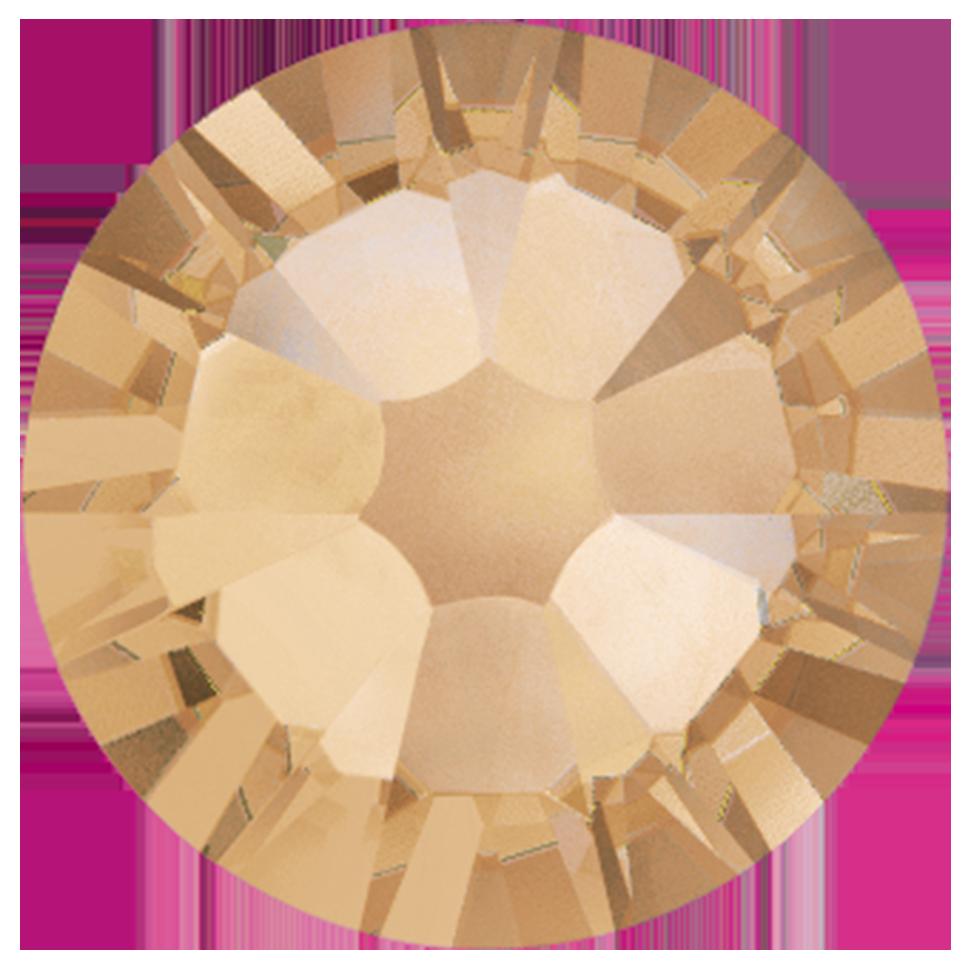 Cristales Swarovski SS5 Golden Shadow