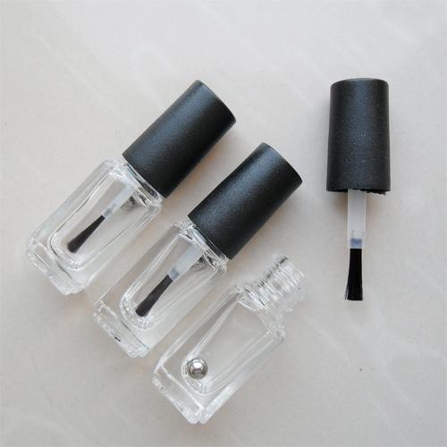 Envase de vidrio de 4 ml para esmaltes