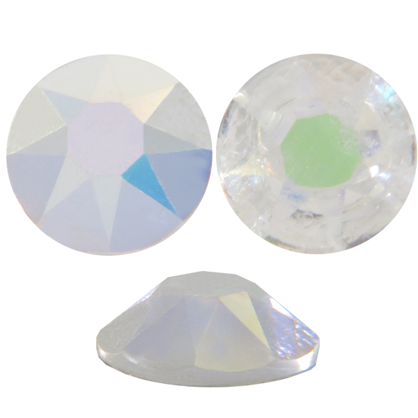 Cristales Swarovski SS16 Crystal AB sin fondo