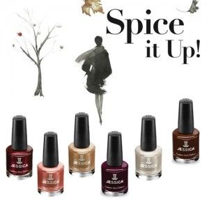 Esmaltes Jessica Colecci&ocute;n Spicy Dream