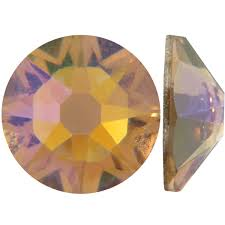 Cristales Swarovski SS5 Topaz AB