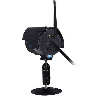 CAMARA IP EXTERIOR WIFI HD - TEC-HW27 - MEGAPIXEL - MICROSD