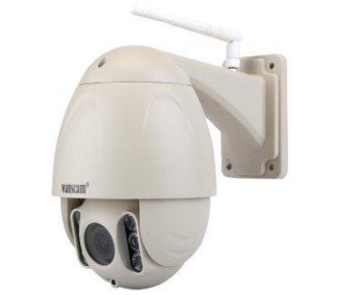 CAMARA IP WIFI TEC-HW45 - VISION NOCTURNA 80MTS - ZOOM 5X