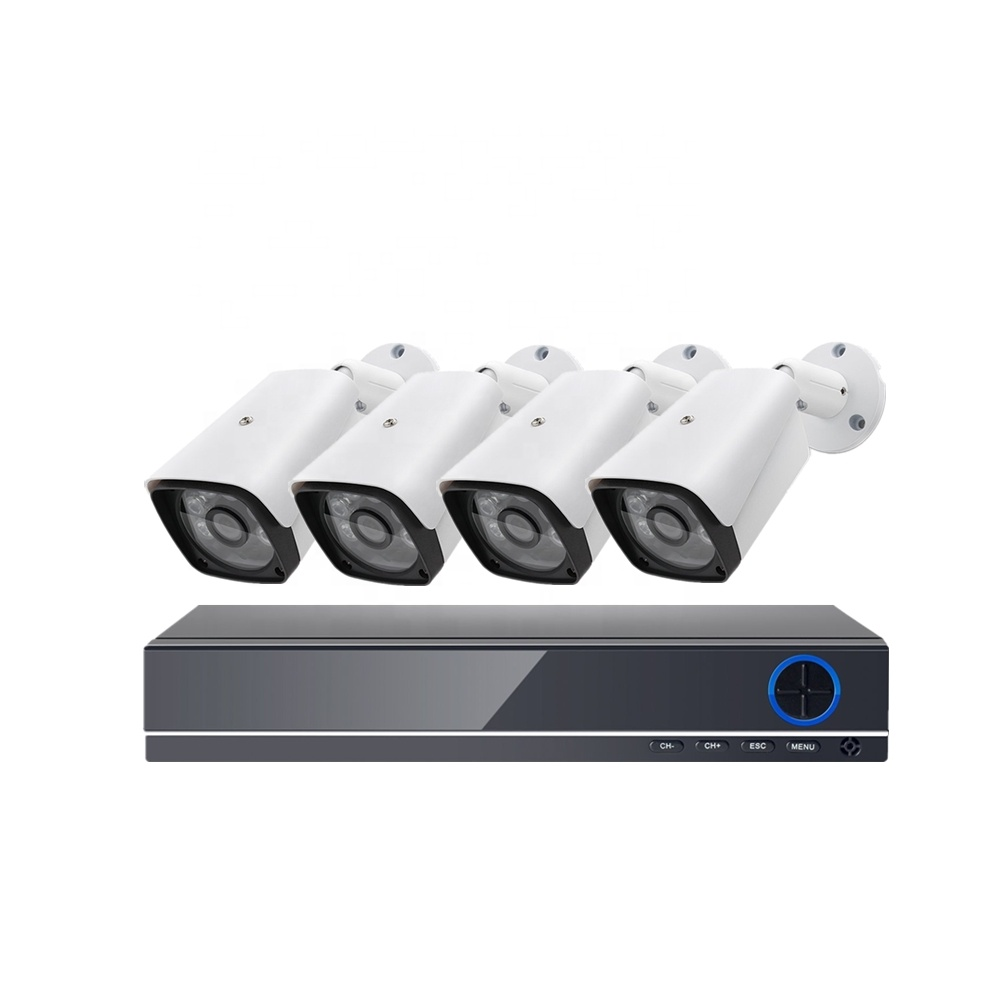 KIT CCTV - DVR 4 CANALES - FULL HD (1080P) 2.0 MEGAPIXEL - INTERIOR/EXTERIOR