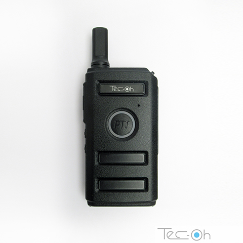 RADIO HANDY TEC-OH MINI-2 UHF - PTT LATERAL Y FRONTAL