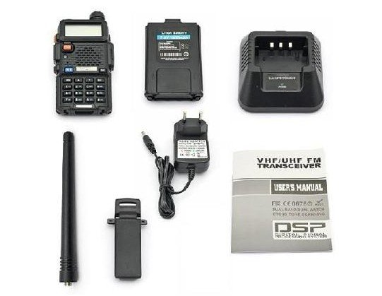 RADIO HANDY BAOFENG UV-5R, VHF/UHF DUAL BAND