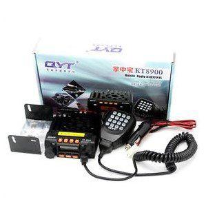 RADIO BASE PORTÁTIL MINI KT8900 - VHF/UHF - 25 WATT