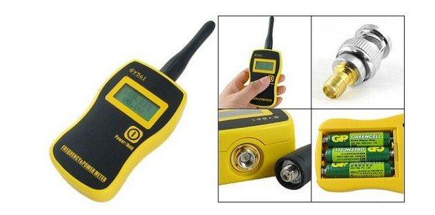 TESTER FRECUENCIA Y POTENCIA PARA RADIOS VHF/UHF GY561