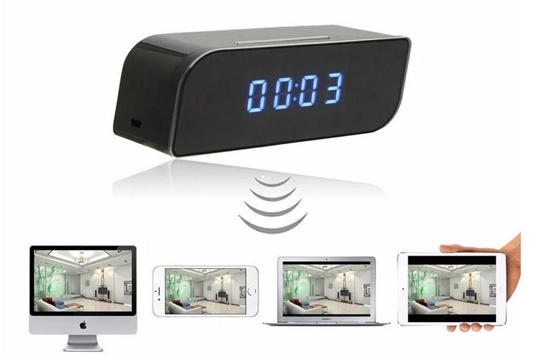 CAMARA ESPIA IP 1080P TIPO RELOJ 1080P - WIFI - MICROSD HASTA 128GB