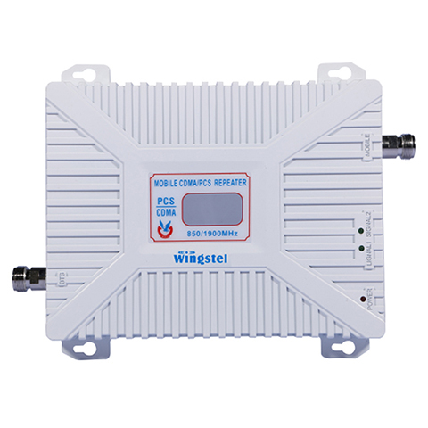 KIT REPETIDOR CELULAR WINGSTEL DUAL BAND 850/1900 mhz