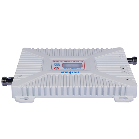 KIT REPETIDOR CELULAR WINGSTEL DUAL BAND 850/1900 mhz