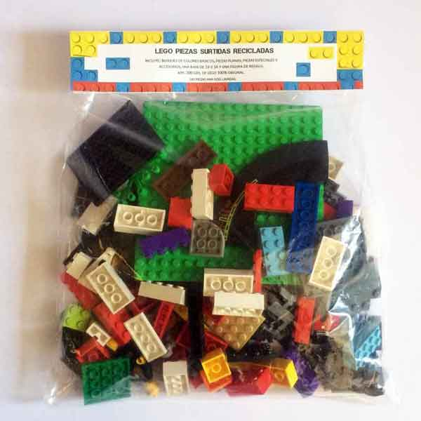 Bloques y Piezas Lego surtidas recicladas - Tec-Toys