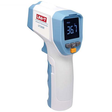 Termómetro Infrarrojo recargable uso profesional sin contacto UNI-T UT 305 R