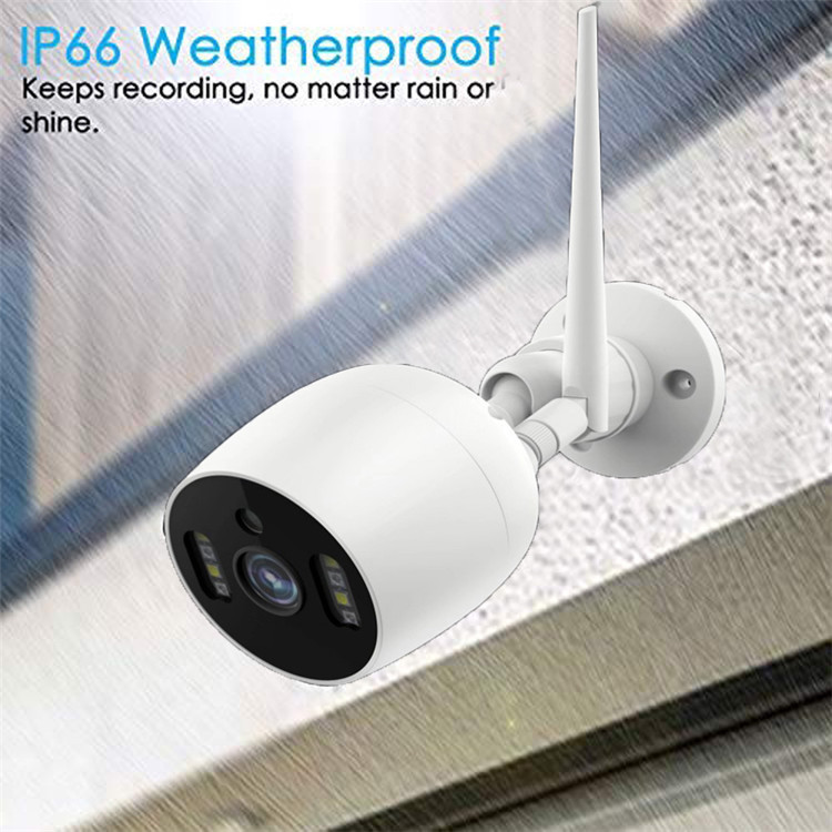 CAMARA IP WIFI 720P EXTERIOR GRABACION CLOUD YCC365 6024H