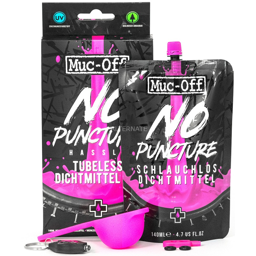 MUC-OFF NO PUNCTURE HASSEL KIT 140ML