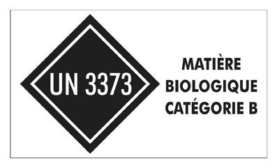 Matière biologique catégorie B