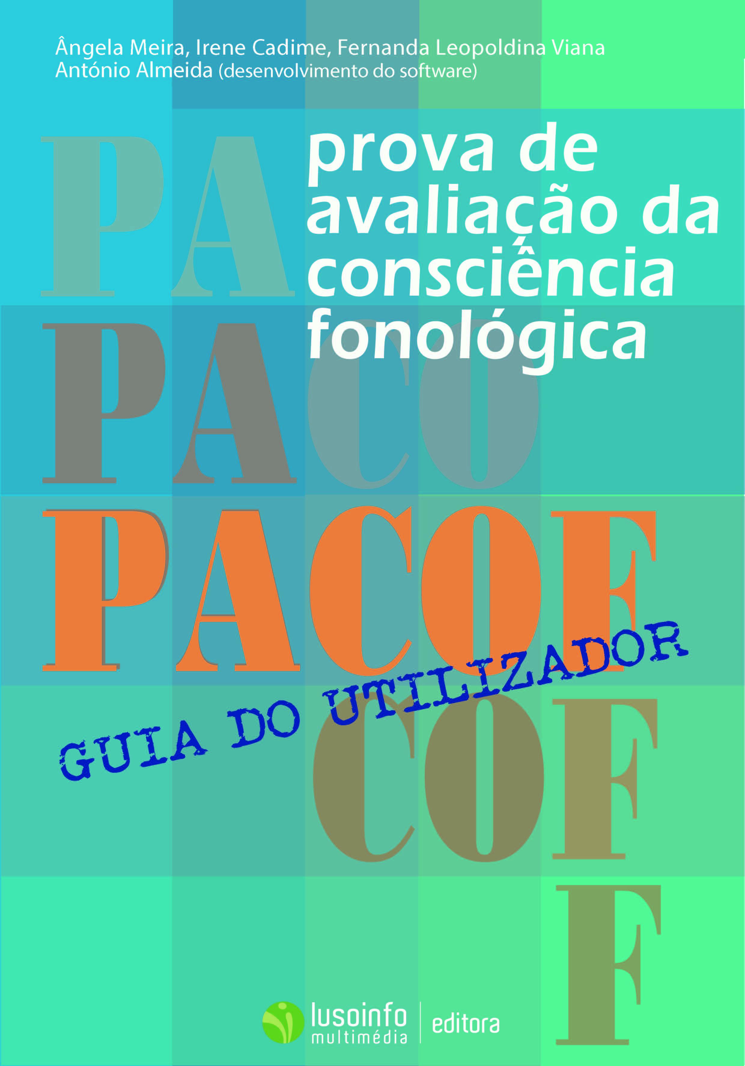 PACOF - Prova de Avaliação de Consciência Fonológica