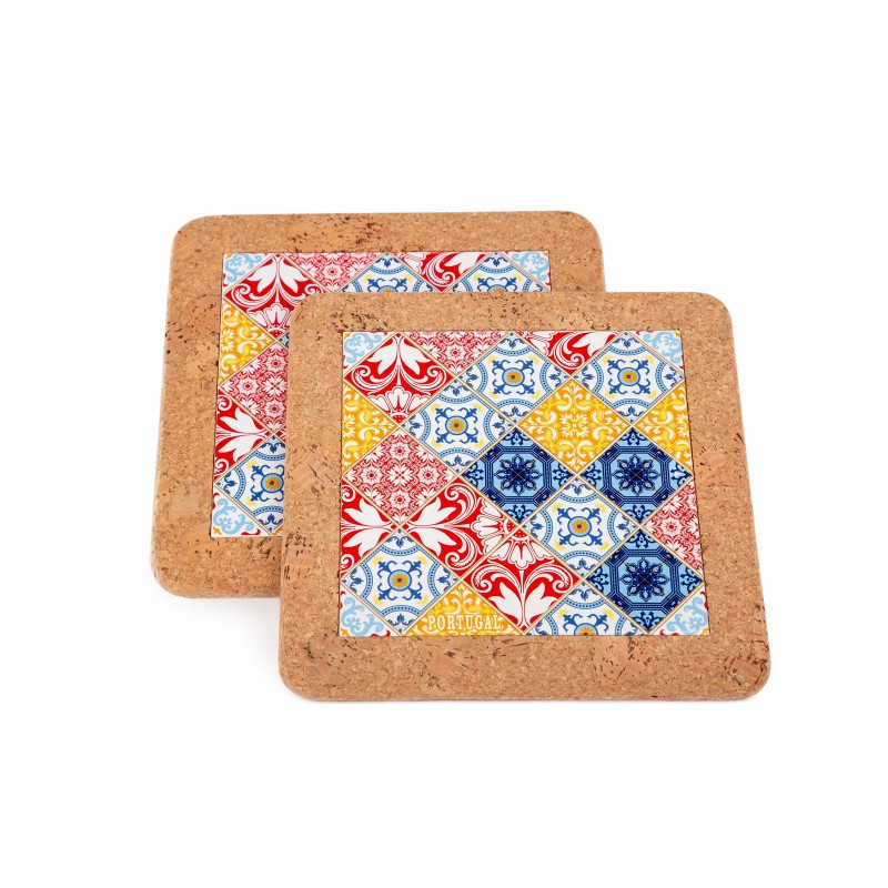 With Red / Blue Tile (2 pcs)