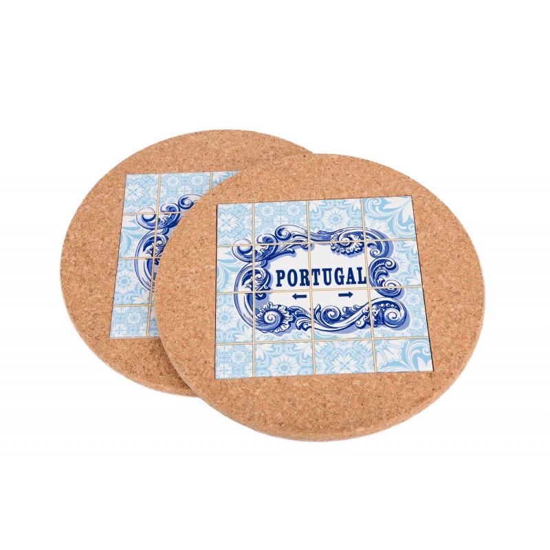 Round Base w / Portugal Tile (2 uni)