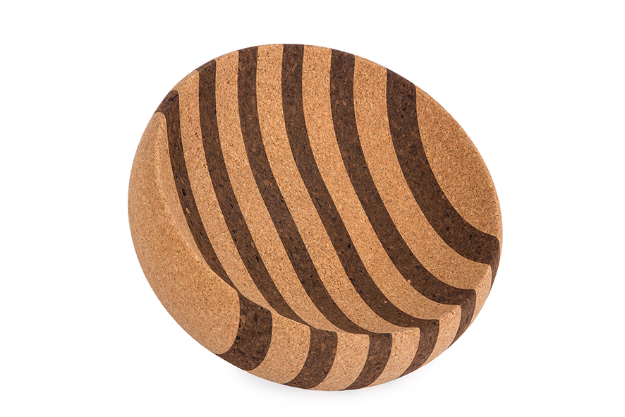 Striped Fruit Bowl