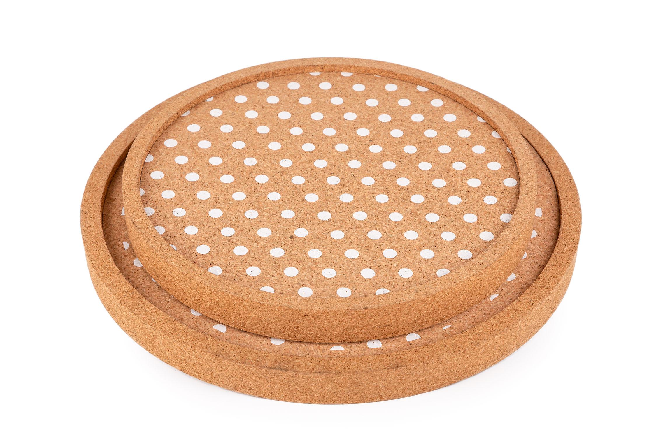 Paris Round Tray Set