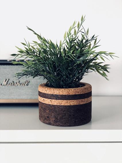 Vase Tradition Noir / Naturel