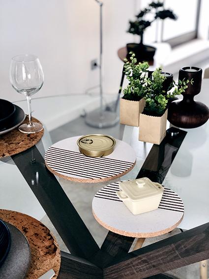 PORTO White Table Base (2units)