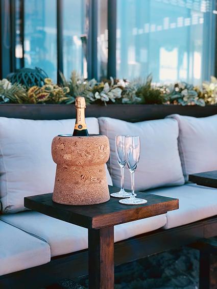 Bouchon Champagne Frapé