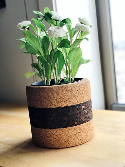 Vaso Tradition nero / naturale II