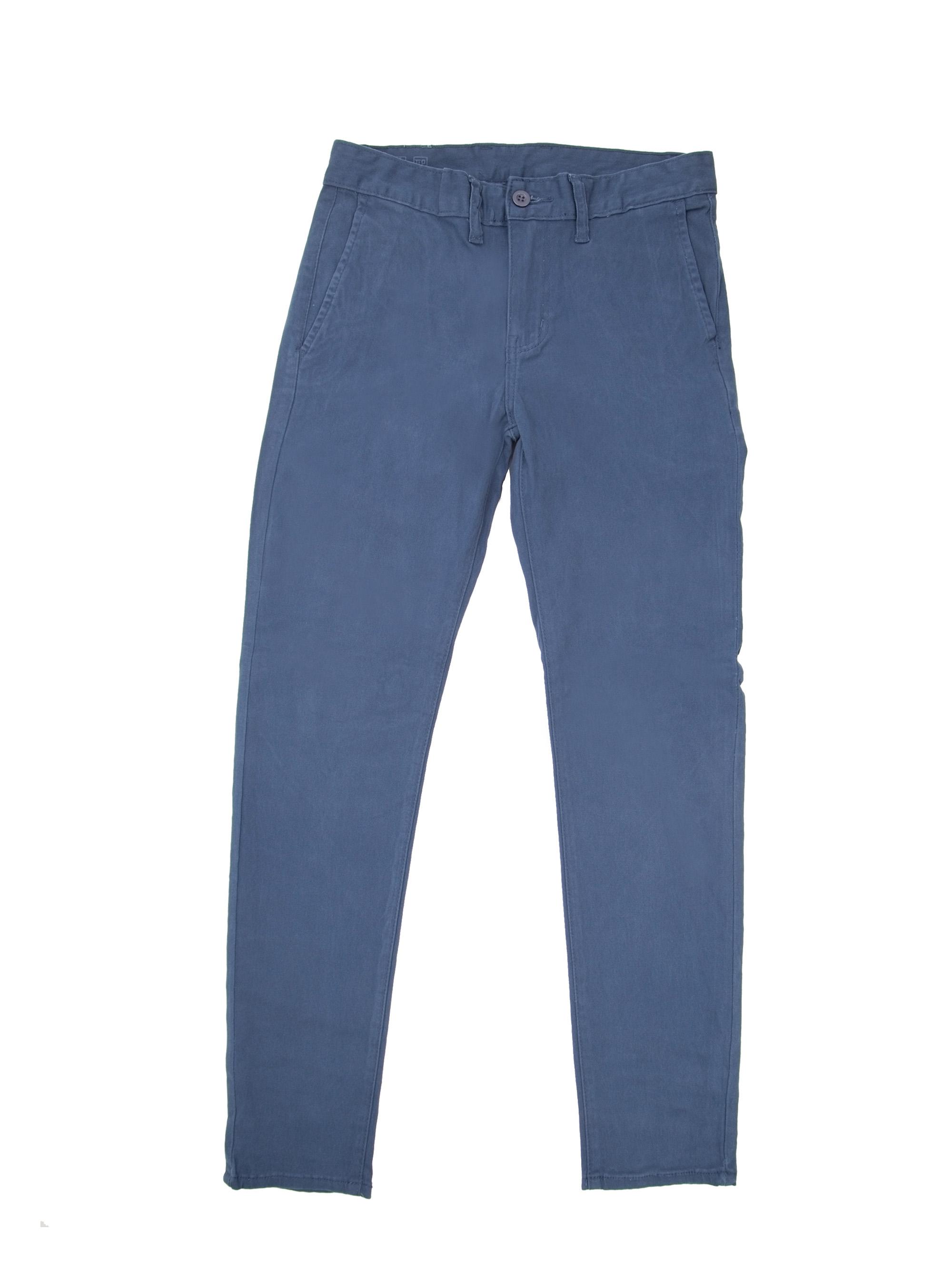 634f54aba TLP Pantalón Vestir Hombre Slim Azul
