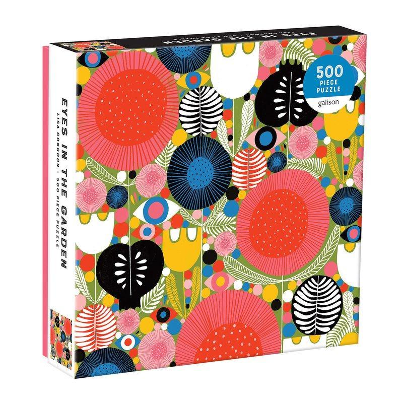 Puzzle Eyes in the garden 500 piezas