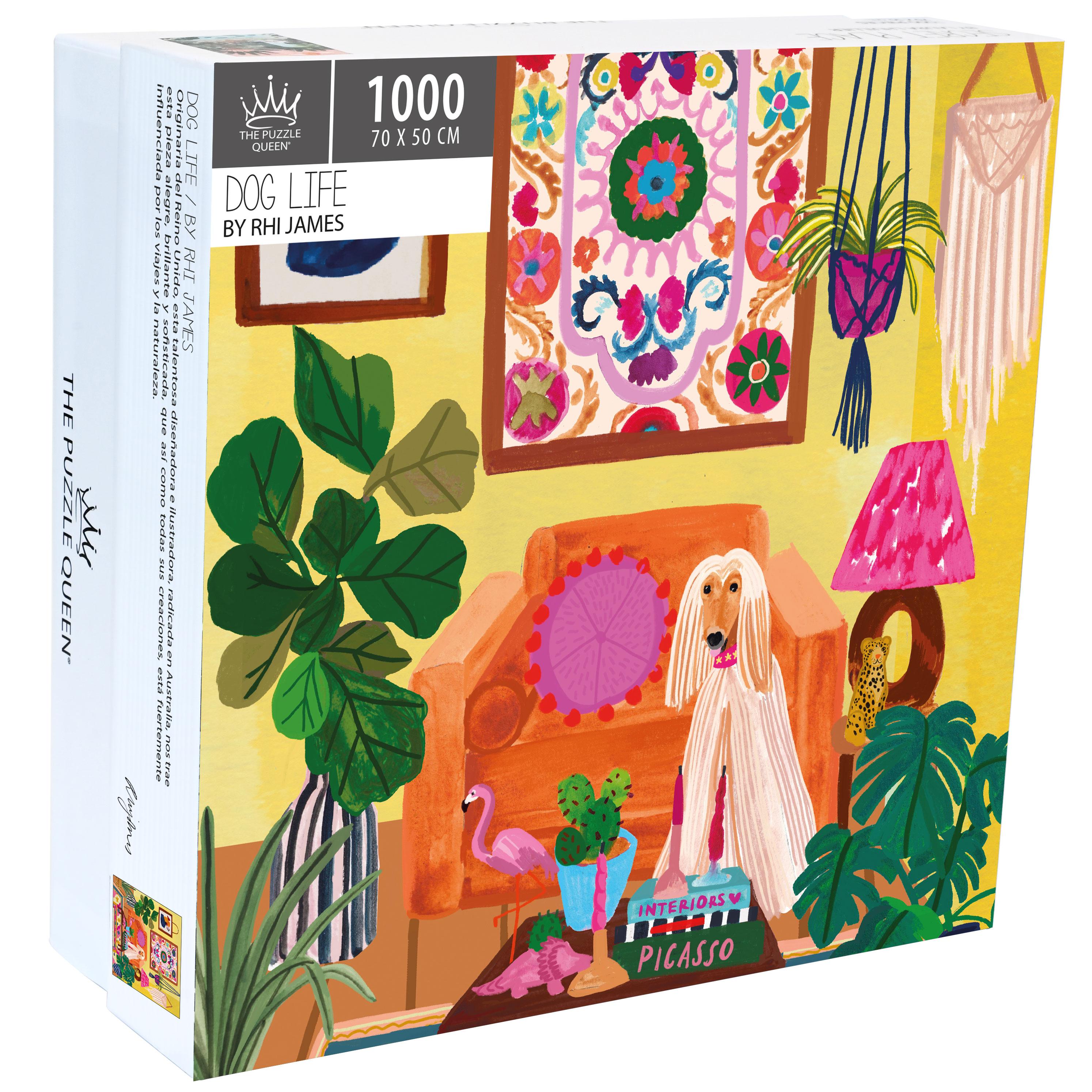 Puzzle Dog Life 1.000 piezas