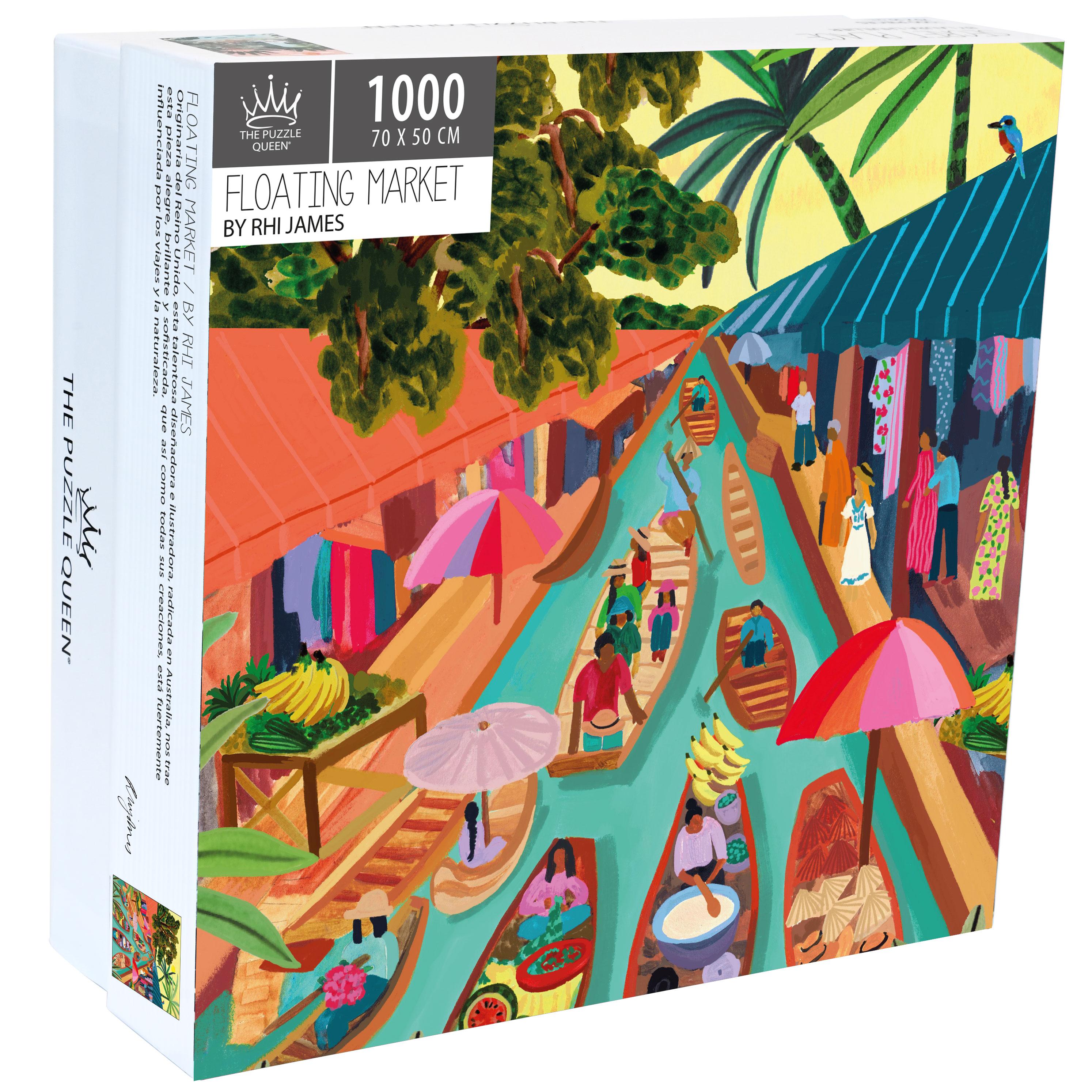 Puzzle Floating Market 1.000 piezas