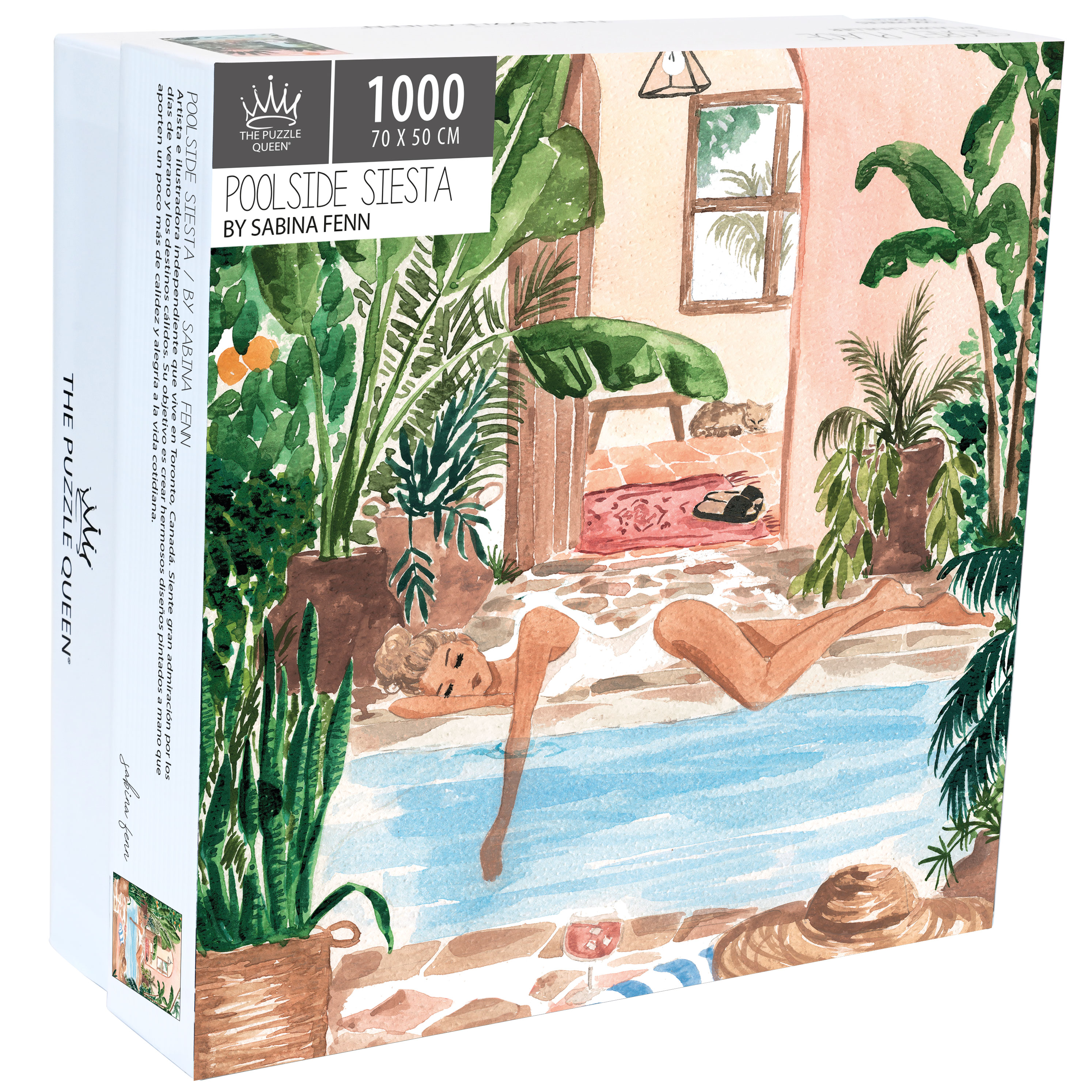 Puzzle Poolside Siesta 1.000 piezas
