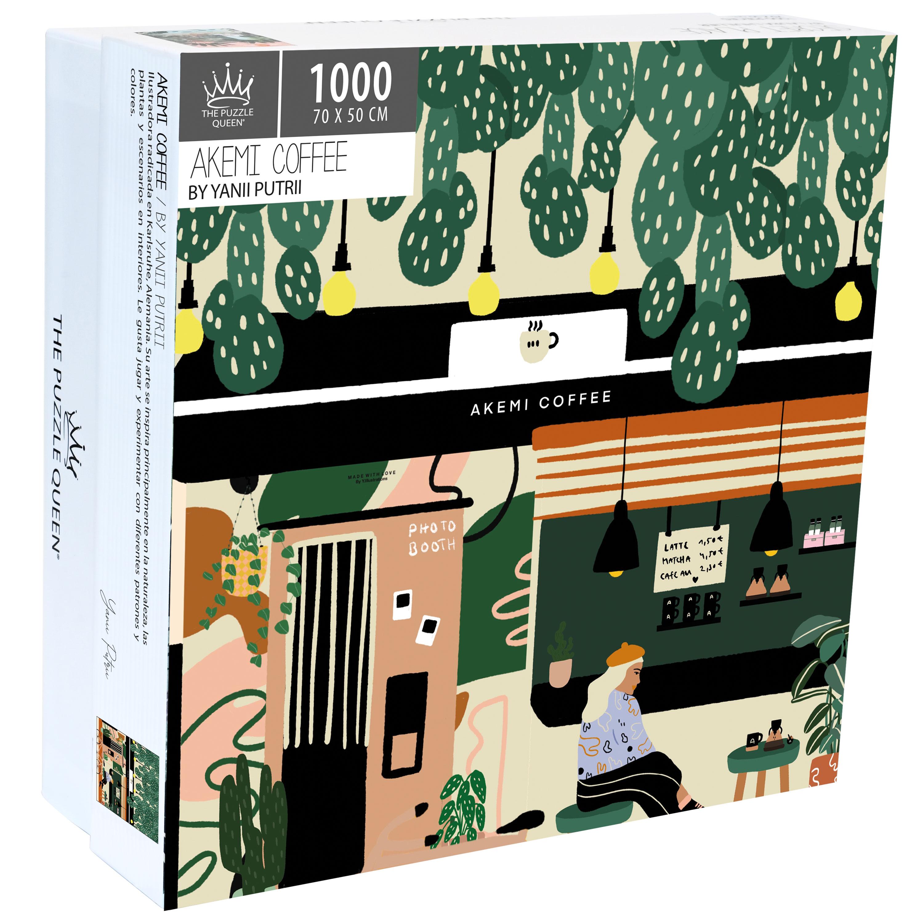 Puzzle Akemi Coffee 1.000 piezas
