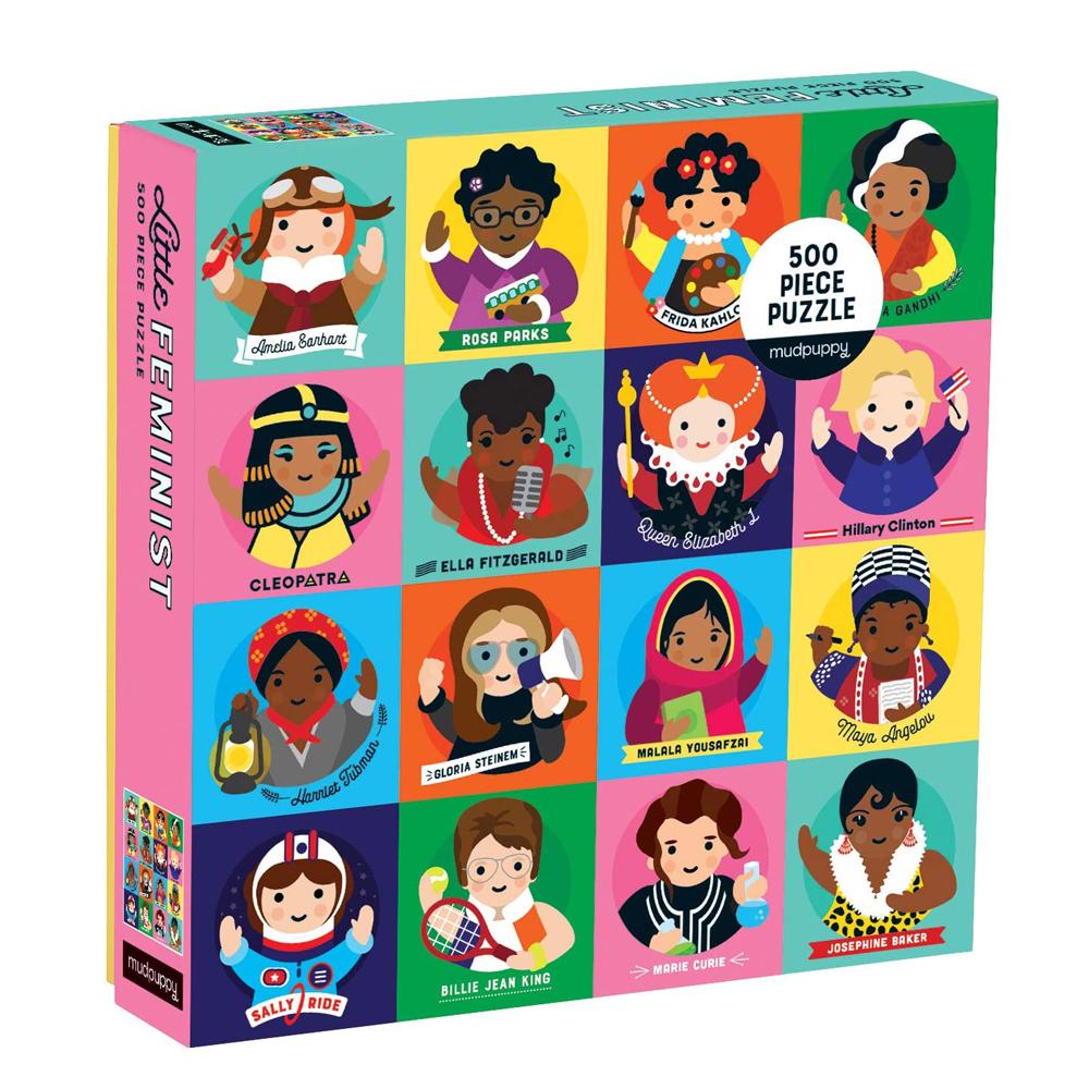 Puzzle Little Feminist 500 piezas
