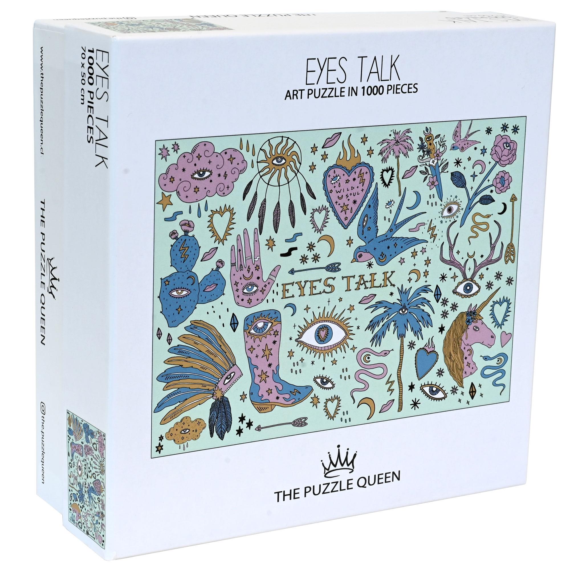 Puzzle Eyes Talk 1.000 piezas