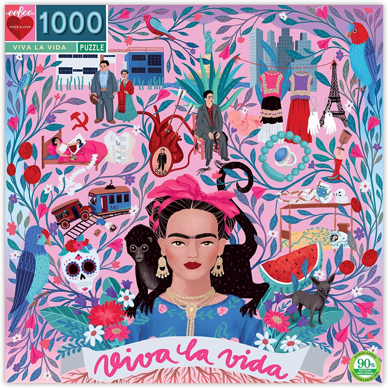 Puzzle Viva La Vida Frida Kahlo 1.000 piezas