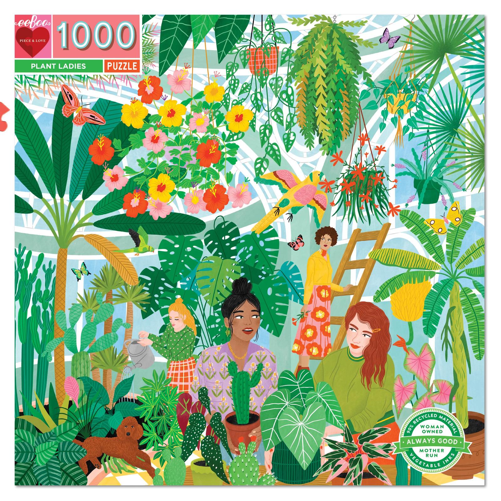 Puzzle Plant Ladies 1.000 piezas